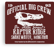 Raptor Ridge Canvas Print