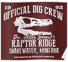 Raptor Ridge Poster