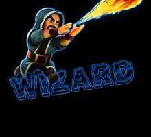 Wizard from Clash of Clans by Potatrice