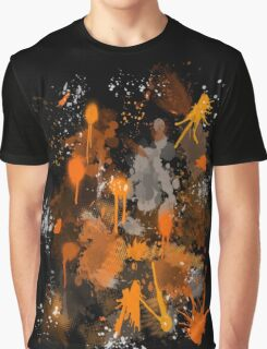 Paint stain Graphic T-Shirt