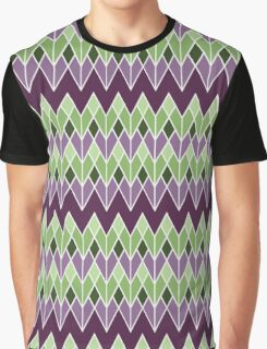 Zig Zag Deco Graphic T-Shirt