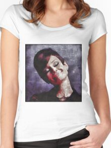 Audrey Hepburn Hollywood Actress Women's Fitted Scoop T-Shirt