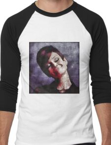 Audrey Hepburn Hollywood Actress Men's Baseball ¾ T-Shirt