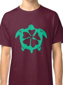 Flower Sea Turtle Classic T-Shirt
