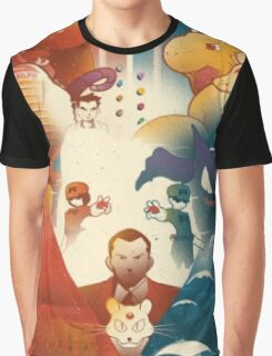 Pokemon Concept Art Poster Graphic T-Shirt