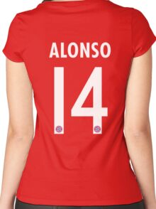 Xabi Alonso Women's Fitted Scoop T-Shirt