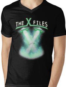 X-files rock tee Mens V-Neck T-Shirt