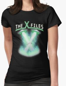 X-files rock tee Womens Fitted T-Shirt