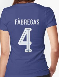 Fabregas Womens Fitted T-Shirt