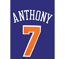 Carmelo Anthony Photographic Print
