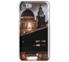 Liver building, Liverpool iPhone Case/Skin