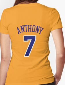 Carmelo Anthony Womens Fitted T-Shirt
