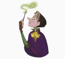 Cedric the Sorcerer by evilplotting