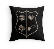 Nerd Crest Throw Pillow
