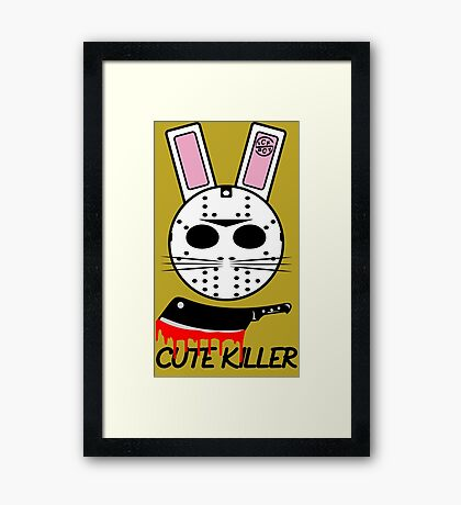 Cute Killer Framed Print
