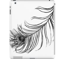 PEACOCK BIRD FEATHER  iPad Case/Skin