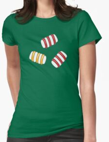 Happy Marshmallows Womens Fitted T-Shirt