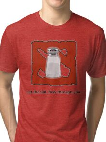 "Dota 2 - ""pure salt"" Tri-blend T-Shirt"