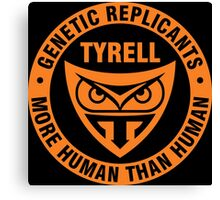 Genetic Replicants Tyrell Canvas Print