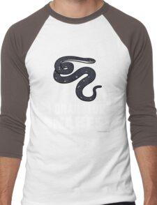 I Brake For Snakes Men's Baseball ¾ T-Shirt