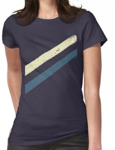 STREET SLANG / Stripes 2 Womens Fitted T-Shirt