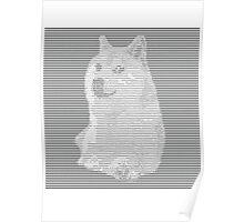 ASCII Doge Poster