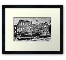 """The Old Knox County Courthouse""... prints and products Framed Print"
