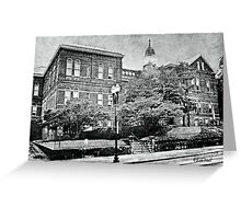 """The Old Knox County Courthouse""... prints and products Greeting Card"
