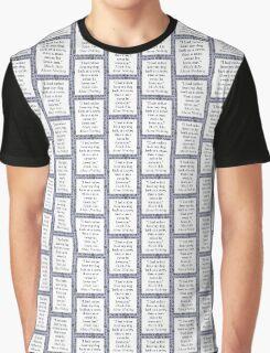I Had Rather Hear My Dog Bark - Shakespeare Graphic T-Shirt