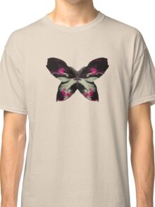 Pink Butterfly Ink Classic T-Shirt