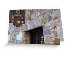 Down by the old Gristmill............ - Michie Tavern ^ Greeting Card