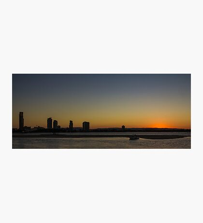 Southport Sunset, Gold Coast Photographic Print
