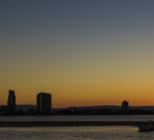 Southport Sunset, Gold Coast Sticker