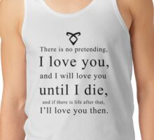 Jace Wayland - Quote Tank Top