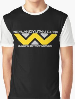 Building Better Weyland Yutani Corp Graphic T-Shirt