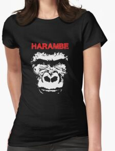 SAVE HARAMBE Womens Fitted T-Shirt