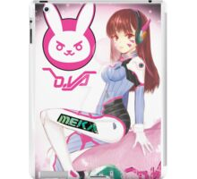OVERWATCH D. VA iPad Case/Skin