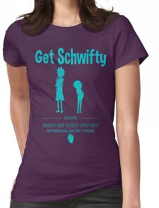 Get Schwifty 2015 Intergalactic Tour Womens Fitted T-Shirt