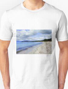 Morning in the beach Unisex T-Shirt