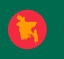 Flag of Bangladesh, 1971 by abbeyz71