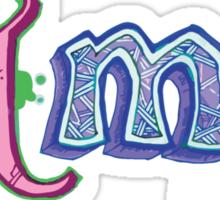 Hand-Drawn HTML Logo Sticker