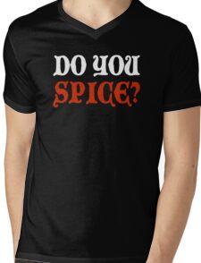 Do You Spice? - Critical Role Fan Design (White)  Mens V-Neck T-Shirt