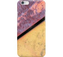 Metal and Rust abstract photography iPhone Case/Skin