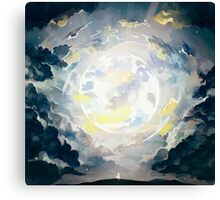 wanderer's orbit. Canvas Print
