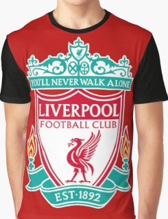 LIVERPOOL FC,THE RED Graphic T-Shirt