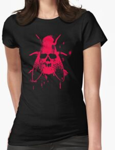 Fly Grunge Womens Fitted T-Shirt