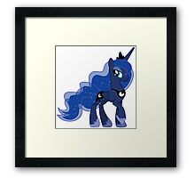Princess Luna (My Little Pony) Framed Print
