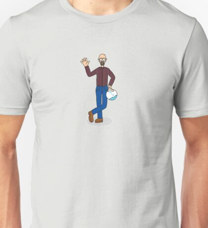 Wheres Walter - Normally Dressed - Wheres Waldo/ Breaking bad Unisex T-Shirt