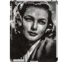 Gene Tierney Hollywood Actress iPad Case/Skin