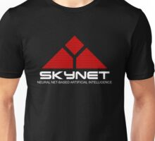 NEUTRAL NET BASED SKYNET Unisex T-Shirt
